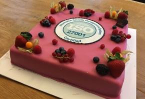 Wij zijn gecertificeerd voor ISO 27001