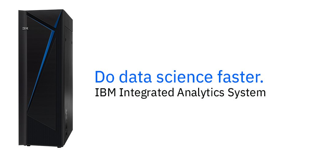 ibm integrated analytics system - Advanced Programs